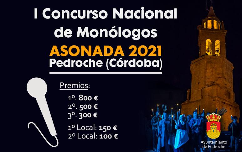 Concurso Nacional de Monólogos Asonada Pedroche 2021